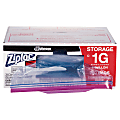 Ziploc® Storage Bags, 1 Gallon, Box Of 250 Bags
