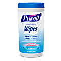 Purell® Hand Sanitizing Wipes, Fresh Scent, Pack of 40 Wipes