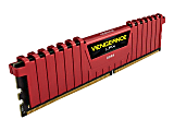 Corsair 8GB DDR4 SDRAM Memory Module - 8 GB (1 x 8GB) - DDR4-2400/PC4-19200 DDR4 SDRAM - 2400 MHz - CL16 - 1.20 V - Unbuffered - 288-pin - DIMM