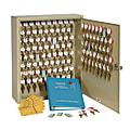 STEELMASTER® Dupli-Key® Two-Tag Key Cabinet, Sand