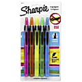 Sharpie® Accent® Retractable Highlighters, Assorted Colors, Pack Of 5