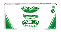 Crayola® Broad Line Marker Classpack®