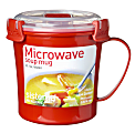 Sistema Soup Mug, Red