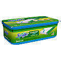 Swiffer® Sweeper Wet Mopping Pad Multi-Surface Refills For Floor Mop, Gain Scent, Pack Of 24 Refills