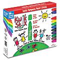 The Pencil Grip Kwik Stix Solid Tempera Paint Sticks, Assorted Colors, Pack Of 96 Sticks