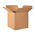 """Office Depot® Brand Double-Wall Heavy-Duty Corrugated Cartons, 24"""" x 24"""" x 24"""", Pack Of 10"""