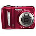 Kodak® EasyShare C143 12.0-Megapixel Digital Camera, Red