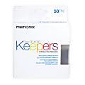 Memorex® CD & DVD Keepers, Clear, Pack Of 50