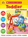 Scholastic® Toddler Jumbo Workbook, Preschool