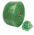 """Office Depot® Brand Bubble Roll, 1/2"""" Thick, 30% Recycled, Green, 12"""" x 125'"""
