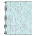 """Blue Sky™ Frosted Monthly Safety Wirebound Planner, 8"""" x 10"""", Rue Du Flore, January to December 2022, 101605"""