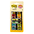 Post-it® Notes Sign Here Printed Flags, With Arrow Flags, Assorted Colors, 50 Flags Per Pad, Pack Of 4 Pads