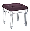 Ave Six Reflections Stool, Port/Mirror