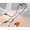 Kensington® Twin Microsaver® Security System, 7' Cable, 2 Locks