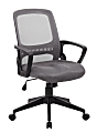Boss Office Products Mesh Task Chair, Gray/Black