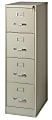 """WorkPro® 22""""D Vertical 4-Drawer File Cabinet, Metal, Putty"""