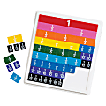 Learning Resource Rainbow Fraction® Tiles, Set Of 51