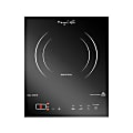 MegaChef Portable Single Induction Counter-Top Cook Top, Black