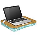 "LapGear® Designer Lap Desk, 17-3/4"" x 13-3/4"", Aqua Trellis"
