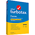 TurboTax® Desktop Premier Federal E-File + State 2020, For PC/Mac
