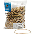 """Business Source Quality Rubber Bands - Size: #117B - 7"""" Length x 0.1"""" Width - Sustainable - 200 / Pack - Rubber - Crepe"""