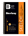 """Bienfang® Sketchbook, 8 1/2"""" x 5 1/2"""", 100 Sheets (200 Pages), White"""