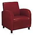 Monarch Specialties Maya Accent Chair, Red