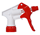 """Continental Multi-Purpose Pro Spray Bottle Triggers, 9 3/4"""" Dip Tube, Red/White, Pack Of 200"""