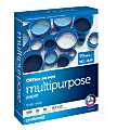 """Office Depot® Brand Multi-Use Paper, Letter Size (8-1/2"""" x 11""""), 20 Lb, White, Ream Of 500 Sheets"""