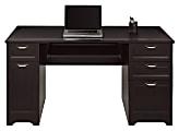 "Realspace® Magellan 59""W Manager's Desk, Espresso"