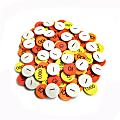 "Sensational Math™ Class Set Place Value Discs, 1"", Assorted Colors, Grade 1 - 4, Pack Of 1,500 Discs"