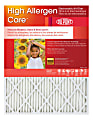 """DuPont High Allergen Care™ Electrostatic Air Filters, 30""""H x 16""""W x 1""""D, Pack Of 4 Filters"""