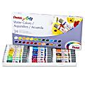 Pentel® Watercolor Paints, 4.05 Oz, Set Of 24 Tubes