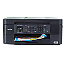 Brother® International Compact MFC-J497DW Wireless Color Inkjet All-In-One Printer