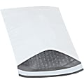 "Office Depot® Brand Bubble-Lined Poly Mailers, 6 1/2"" x 10"", White, Box Of 250"