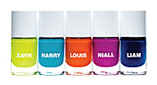 One Direction Limited Edition 1D + OD Together Nail Polish, Pack Of 5
