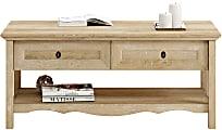 "Sauder® Adaline Cafe Lift Top Coffee Table, 18-15/16""H x 43-1/8""W x 19-5/8""D, Orchard Oak"