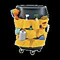 "Rubbermaid® Brute® Caddy Bag, 20 1/2""H x 20""W, Yellow"