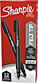 Sharpie® Fine-Point Pens, Fine Point, Black Barrels, Black Ink, Pack Of 12