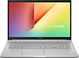"ASUS® VivoBook 15 K513 Laptop, 15.6"" Screen, Intel® Core™ i7, 12GB Memory, 512GB Solid State Drive, Windows® 10, K513EA-OB74"