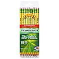 Ticonderoga® Pencils, Presharpened, #2 Lead, Soft, Pack of 18
