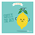 """TF Publishing Humor Mini Monthly Wall Calendar, 7"""" x 7"""", Food Puns, January To December 2021"""