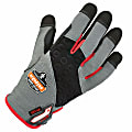 Ergodyne ProFlex 710CR Armortex Heavy-Duty Cut-Resistant Gloves, Large, Gray