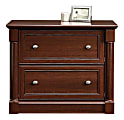 """Sauder® 36-3/4""""W Lateral 2-Drawer File Cabinet, Select Cherry"""