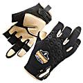 Ergodyne ProFlex 720LTR Heavy-Duty Leather-ReinforcedFraming Gloves, Large, Black