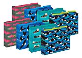 Barker Creek Tab File Folders, Letter Size, Sea & Sky, Pack Of 24 Folders