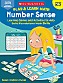 Scholastic Play & Learn Math: Number Sense, Grades K To 2nd