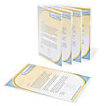 Office Depot® Brand Poly Project View Folders, Letter Size, Clear, Pack Of 10