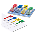 """Sparco """"Sign Here"""" Preprinted Self-Stick Flags, 1/2"""" x 1 3/4"""", Assorted Colors, Pack Of 140"""