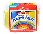 Faber-Castell Fluffy Paint Kit, Rainbow, Pack Of 5 Paints